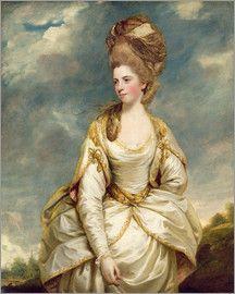 Sir Joshua Reynolds - Miss Sarah Campbell