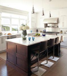 Une maison au possibilités nouvelles | CHEZ SOI © TVA Publications | Yves Lefebvre #deco #cuisine