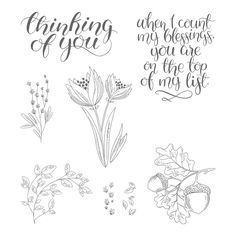 Count My Blessings Stamp Set © Stampin' Up!