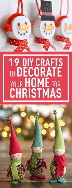 DIY Crafts To Decorate Your Home For Christmas