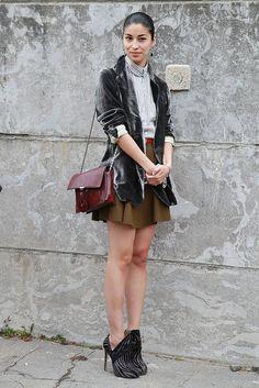 Paris Fashion Week Street Style: Caroline Issa