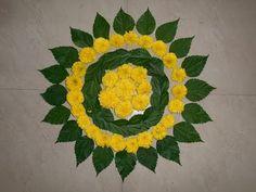12 Types of Flower Rangoli Designs for different areas Rangoli Designs Flower, Colorful Rangoli Designs, Rangoli Ideas, Rangoli Designs Diwali, Flower Rangoli, Beautiful Rangoli Designs, Flower Designs, Diwali Rangoli, Diwali Decorations At Home
