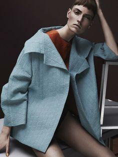 Marikka Juhler by Raf Stahelin for Garage Magazine Fall Winter 2013 2014 | The Fashionography