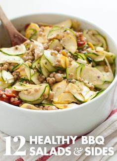 12 healthy barbecue salads and sides! See them all at cookieandkate.com