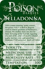 poison diaries - Google Search