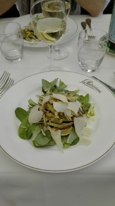 insalata di carciofi 4-MAR-2016 @ La Matriciana - Roma