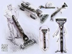 13-Victor-Nunes-Faces-Making-Art-and-Faces-with-Everything-www-designstack-co