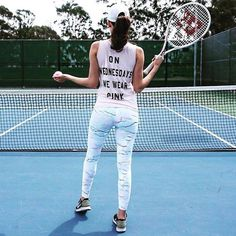 Game, Set...  Leggings: https://flybery.com/clothing/body-language-sculpt-legging-gym/p/99260  #fashion #tennis  #sport #activity #fit #fitness #cardio #style #outfits #inspiration #motivation