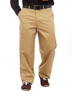 Color Plus introduces these Khakhi trousers which mark a fashion quotient when worn. Take a break from your routine and try these super-trendy trousers in the loveliest of hues. These pair of trousers is paired with a belt and has slant pockets on either side. The trousers are designed with a zippered fly and button closure at front. The trousers have a waistband with belt loops and are made from very good quality fabric. The fabric used is Courtyard Castle and gives a very formal look when…