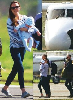Kate Middleton and George :)