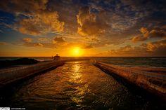 Boynton Beach Ocean Inlet Sunrise Palm Beach County Florida by Captain Kimo, via Flickr