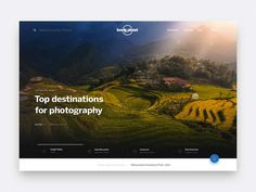 Hi friends,   Last year I briefly collaborated with my friends at Lonely Planet to design their new Home Page. I can't emphasize enough how amazing is to work with these guys (special mention to th...