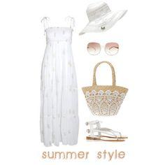 """Summer style"" by Coastal Style Blog"