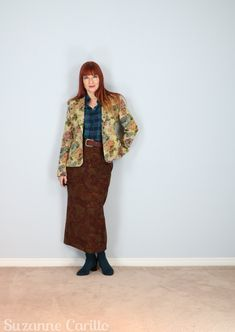 Wear Three Different Prints Together - Suzanne Carillo Paisley Pattern, Paisley Print, Four Tops, Blog Topics, Blue Roses, Large Prints, Different, One Color, Get Dressed