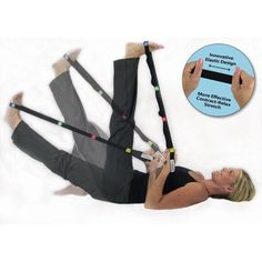 Thera-Band Stretch Strap -   The Thera-Band Stretch Strap is a revolutionary replacement to traditional static stretching devices. When used with our dynamic stretches it helps improve flexibility and ROM during rehabilitation. Supports classic static stretches plus introduces more effective dynamic stretches. Varied loop sizes ideal for foot-related conditions.