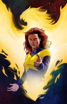 Dark Phoenix by Arnel Baluyot Marvel Comics, Mcu Marvel, Marvel Heroes, Captain Marvel, Jean Grey Phoenix, Dark Phoenix, Phoenix Xmen, Logan Wolverine, X Men