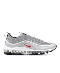 official photos 64ec4 fc4d0 Nike Air Max 97 Og Qs Silver Bullet 2017 Metallic Silver Varsity Red Outlet  Nike Air