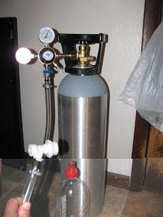 """Make your own """"Soda"""" Stream but better.you can carbonate anything, not just those expensive syrups they make. Even wine for homemade champagne! Soda Stream Recipes, Soda Syrup, Alcoholic Drinks, Beverages, Wine And Beer, Preserving Food, Wine And Spirits, Home Brewing, Healthy Drinks"""