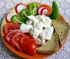 Feta, Caprese Salad, Red Peppers, Insalata Caprese