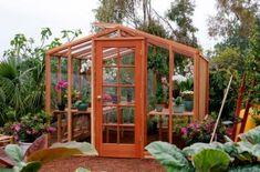 I want my own greenhouse