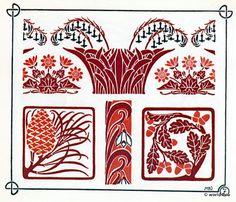 Vorlage für Tattoo, Stickerei, Design und Grafik. Illustrationen