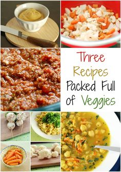 It's All About the Vegetables: 3 Veggie-centric Recipes You Need to Make!  Gluten-free oil-free and soy-free