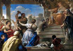 ***Lucas Jordán, Juicio de Salomón. Madrid, Museo del Prado.