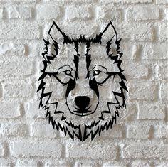 Bystag Metal Dekoratif Duvar Aksesuar Kurt- Bystag Metal Decorative Wallart Wolf