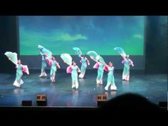 Beautiful Chinese Fan Dance - Flying Kites 放风筝 - Colours of Dance at the River Rock Theatre - YouTube