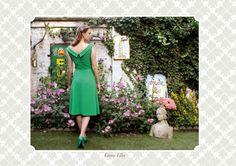 green ella -Red Juliet for bride's maids