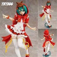 29.55$  Watch here - http://alih5e.shopchina.info/1/go.php?t=32788174381 - YNYNOO New 23CM Hatsune Miku Action Figure Cute Large-Size Susan Miku The Little Red Riding-hood Doll PVC Figure Anime AF008  #buyininternet