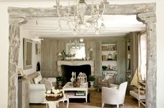 Traditional Living Room by Catherine Sandin