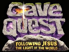 Cave Quest Vbs Logo - Gear up for an over-the-top underground adventure! Ground kids in the rock-solid foundation of God's love, a love that takes us through life's dark times.