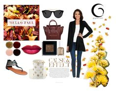 """HELLO FALL♥"" by gcgme ❤ liked on Polyvore featuring Envi, Joe's Jeans, GCGme, Kate Spade, CÉLINE, Bobbi Brown Cosmetics, Nails Inc., Essie and Smoke & Mirrors"