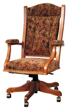 Amish Berlin Executive Deluxe Desk Chair