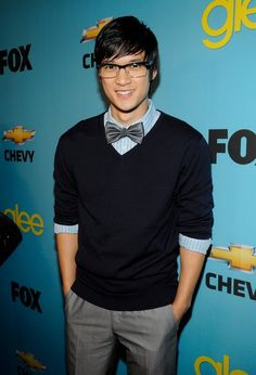 Nerd look is my fave.