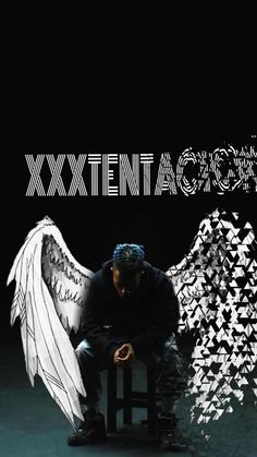 Beautiful and luxurious Wings Wallpaper, Angel Wallpaper, Rap Wallpaper, Emoji Wallpaper, Screen Wallpaper, Wallpaper Backgrounds, Miss X, Rapper Wallpaper Iphone, Xxxtentacion Quotes