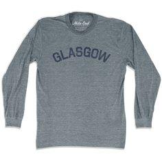 Glasgow City Vintage Long Sleeve T-Shirt