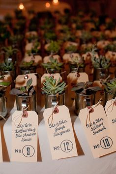 Laura & John | table number tags | The Dapper Paper Co. | Shira Z Photography
