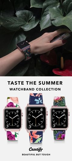 Apple Watch Series 3 (GPS) Aluminum Case - Applewatch - Ideas of Applewatch - The perfect band for any Apple Watch Series 3, Apple Watch Bands, Laura Ashley, Trends 2018, Apple Watch Accessories, Gucci, Chanel, Apple Products, Swagg