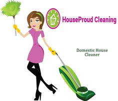 how to be a professional house cleaner