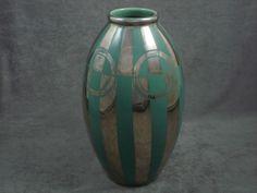 Sold - Grand Vase Art déco moderniste céramique Odyv vintage french  | Keramis - eBay