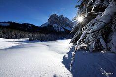 Crëp das Dodesc - Piza de Antersasc   Sci alpinismo / Racchette da neve   Longiaru / Campill   Dolomiti, escursioni, e passeggiate.