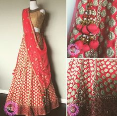 Some detail shots on this Lehenga from Studio East6 #Lehenga #IndianFashion #IndianInspired #BollywoodInspired #StudioEast6 www.studioeast6.com