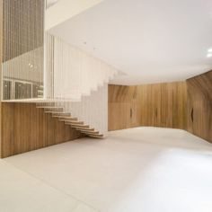 Wadi Penthouse By Platau 1   Design Milk Floating Staircase, Pent