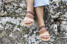 Greek Sandals, Gold Sandals, Flat Sandals, Gladiator Sandals, Leather Sandals, Shoes Handmade, Shoes Photo, Toe Rings, Women Sandals