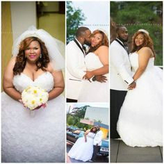 Plus size bride -beautiful  Visit our blog for inspirational stories & articles about plus size women, plus size issues and tips for the plus size lifestyle www.slimmingbodyshapers.com/blog