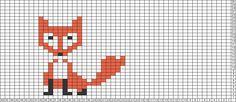 Tricksy Knitter Charts: fox by pavla by Pavla Boruvkova