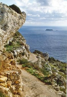 The Dingli Cliffs on Malta. Notwithstanding that these cliffs are the highest that geography gets, much of Maltas landscape looks like this