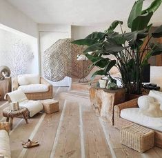 23 images that show how to style indoor plants - Vogue Living Furniture Inspiration, Interior Inspiration, Living Room Decor, Living Spaces, Dining Room, Vogue Living, Home Design, Home And Living, Interior And Exterior